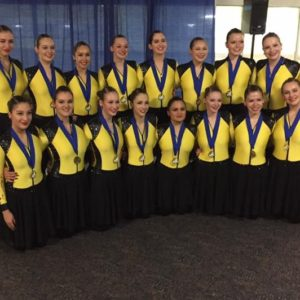 CPS Nova Junior remporte la médaille d'or à la compétition « Boston Synchronized Skating Classic »!