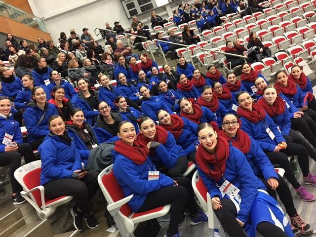Félicitations aux patineuses de la Rive-Sud membres des équipes de Patinage Synchronisé Nova