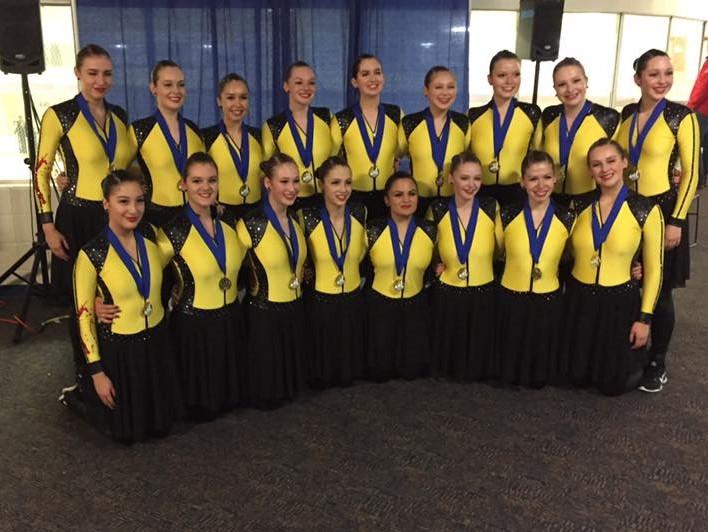 CPS Nova Junior remporte la médaille d'or à la compétition « Boston Synchronized Skating Classic »!